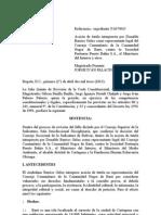 T-172-13 Colombia Derecho a La Consulta