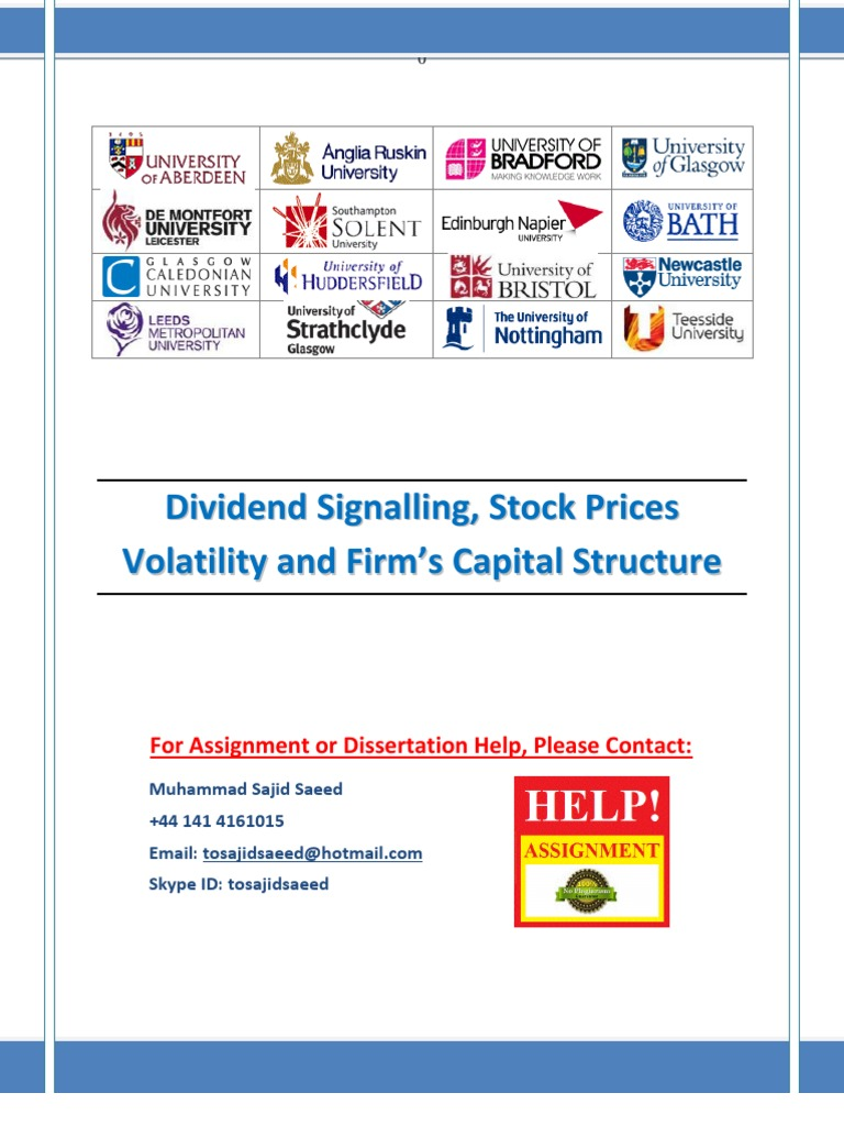 impact of capital structure and dividend Impact of ownership sturcture on dividend policy of firm  ownership structure and dividend payout of the firms listed  capital gain according to seppo.