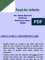 Weankkkking Foods for Infants Ppt