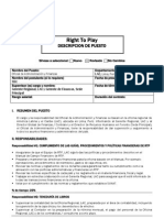 Descripción de puesto Oficial de Adm y Finan