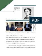 1860s Fashion Report