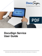 DocuSign Service User Guide