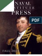 Naval Institute Press Fall 2013 Catalog
