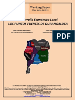 Desarrollo Económico Local. LOS PUNTOS FUERTES DE DURANGALDEA (Es) Local Economic Development. THE STRENGTHS OF DURANGALDEA (Es) Tokiko Ekonomi Garapena. DURANGALDEAREN INDARGUNEAK (Es)