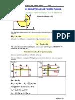 Caracteristicas Geométricas das Figuras Planas parte I - Mecânica Geral - UniSanta - Prof. Damin