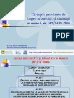legea securitatii si sanatatii in munca - Prezentare.ppt
