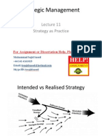 Strategic Management Lecture 11