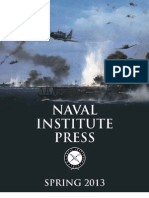 Naval Institute Press Spring 2013 Catalog