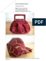 FREE Silk Pleated and Darted Purse Tutorial
