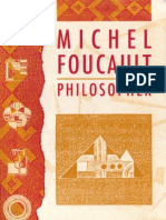 Michel Foucault Philosopher Essays