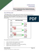 A PDF Manual Split Doc