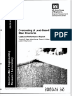Overcoating of Lead-Based Paint on Steel Structures