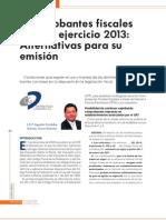 Comprobantes fiscales para el ejercicio 2013 Alternativas para su emisión.pdf