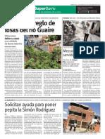 SuperBarrio 22 mayo Losas del Río Macarao Guaire Campo Rico escuelas