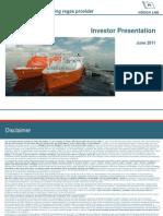 Höegh Investor Presentation HLNG Investor Presentation IPO