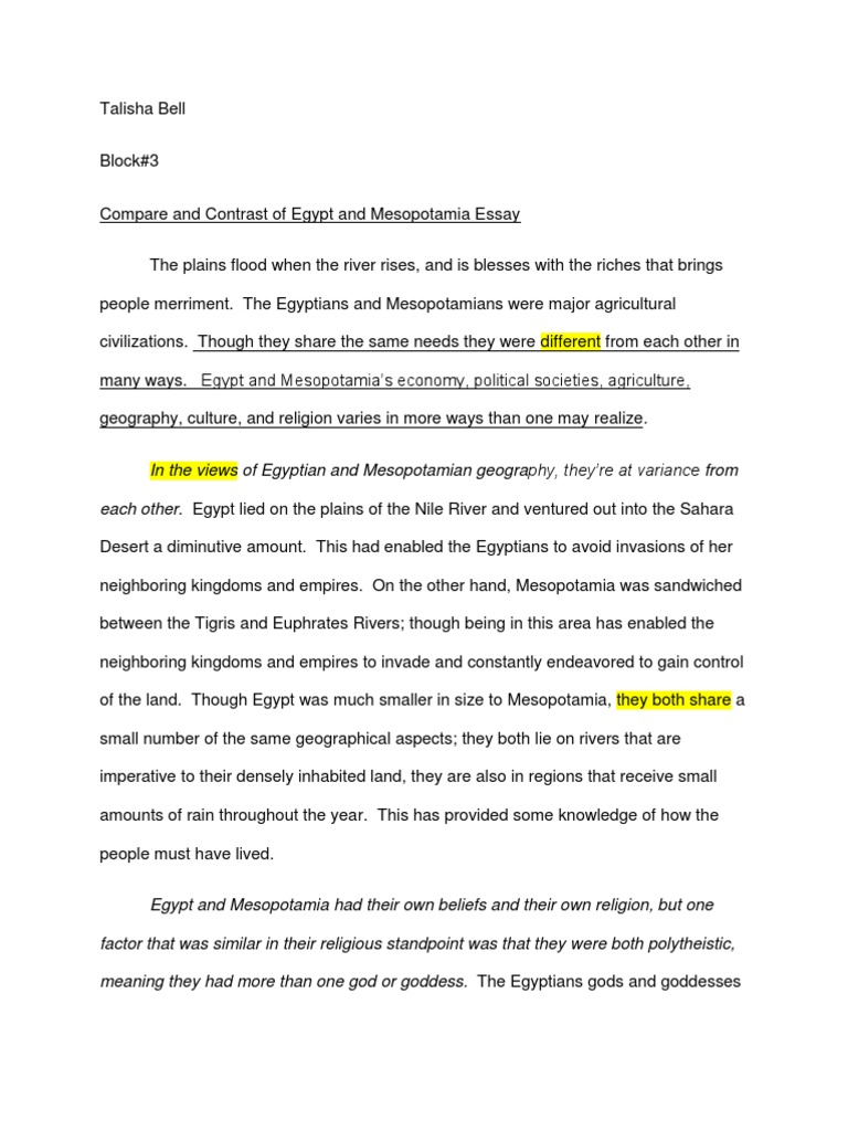compare and contrast essay structure essay tutorial yearessay  also essay essay gxart prime essay writings ian art mesopotamia comparison essaymesopotamia