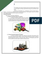 Comrison of IC & EC Engines