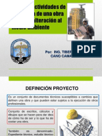 Clase N° 6, Etapas y áreas de influencia de una obra civil (2)