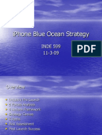 iPhone Blue Ocean Strategy