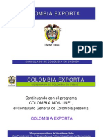 Colombia Exporta Sydnei