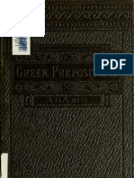 Greek Prepositions Adam Uoft