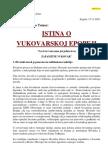 Tomac Fokus Istina o Vukovarskoj Epopeji