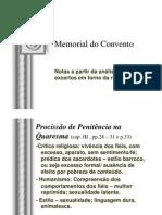 Memorial Do Convento Notas Religio