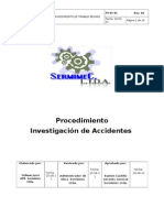 PT-05-00 Procedimiento Investigación de Accidentes