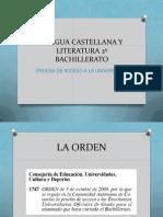 LCL 2º BAC 12_13 PRESENTACIÓN DE LA MATERIA