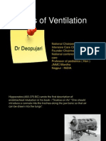 Physics of Ventilation