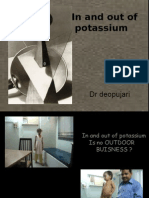 In and out of potassium - Dr Satish Deopujari