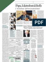 Esorcismo Del Papa, Il Dietrofront Di Boffo