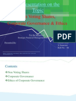Non Voting Shares
