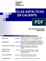 Clase Diseño de Mezclas Asfalticas en Caliente III 2006