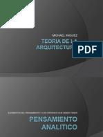 Teoria de La Arquitectura -Pensamiento (Michael Iniguez) (1)