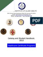 catalog and student handbook 2013.doc