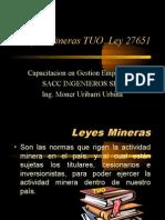t146 Sacc Leyes Mineras Tuo