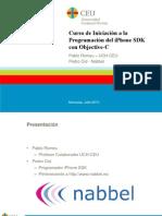 Curso de Iniciación a la Programación del iPhone SDK con Objective-C. 1 - Introduccion