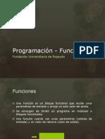 Programación - Funciones