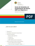 Curso de Iniciación a la Programación del iPhone SDK con Objective-C. 2 - Visión global