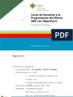 Curso de Iniciación a la Programación del iPhone SDK con Objective-C. 3 - Foundation Framework