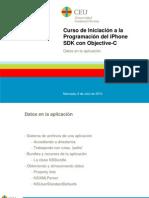 Curso de Iniciación a la Programación del iPhone SDK con Objective-C. 8 - Datos en la aplicacion