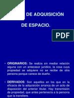 MODOS DE ADQUSICIÓN