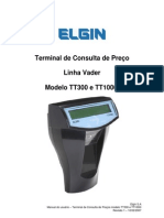 Manual Do Usuario - Terminal de Consulta de Preo - Linha Vader