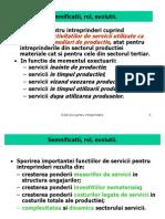 Serviciile, Tipuri de Servicii
