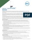 Latitude e6420 Specsheet