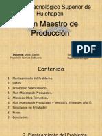 Plan Maestro de Producción