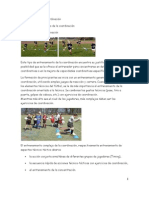 coordinación  fútbol base