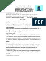 Atividade II-Organica III