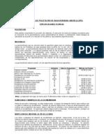 Especificaciones Tecnicas Geombrana de Baja Densidad